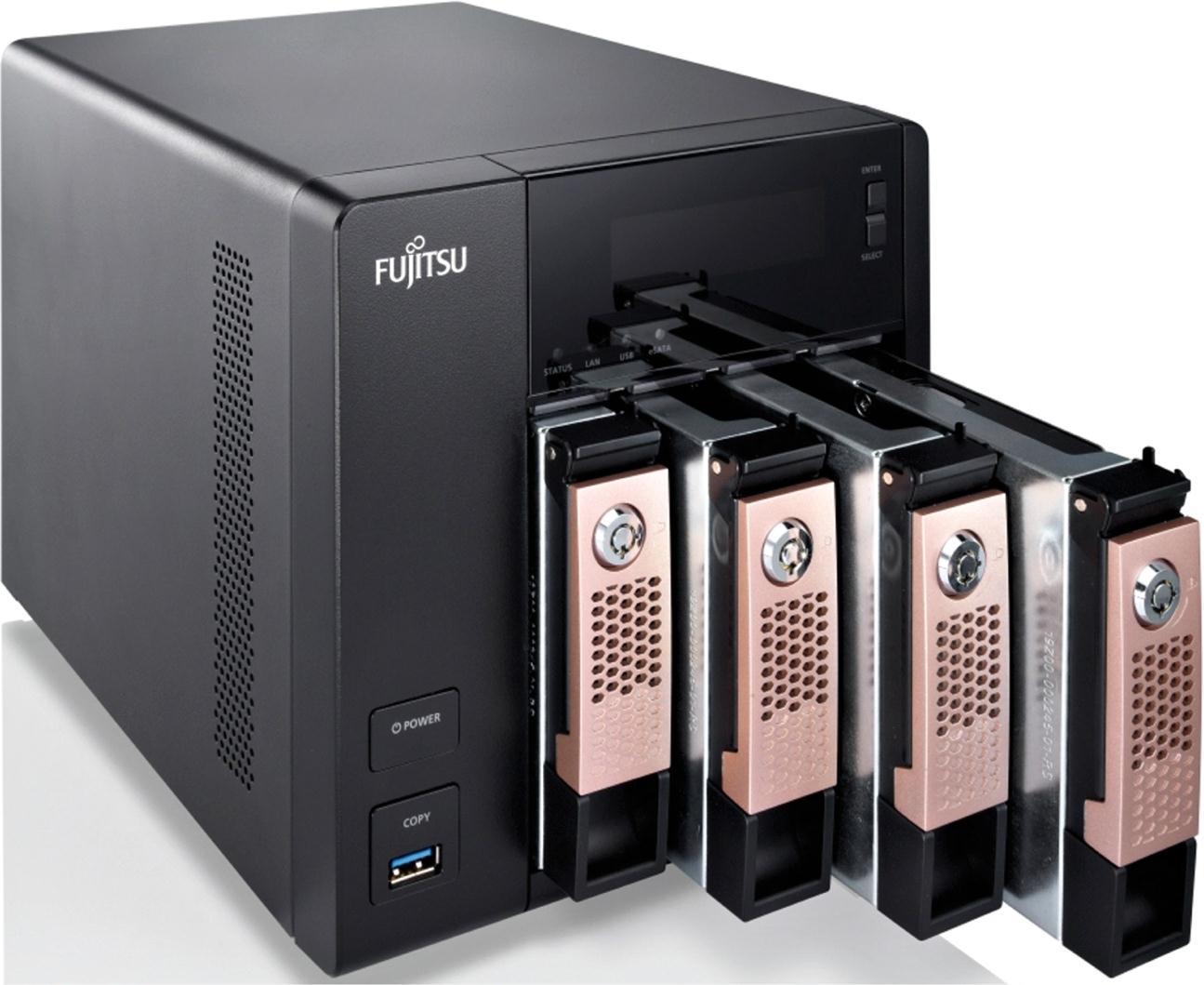 Fujitsu CELVIN Q802 8TB (4 x 2TB) 4-Bay NAS Server