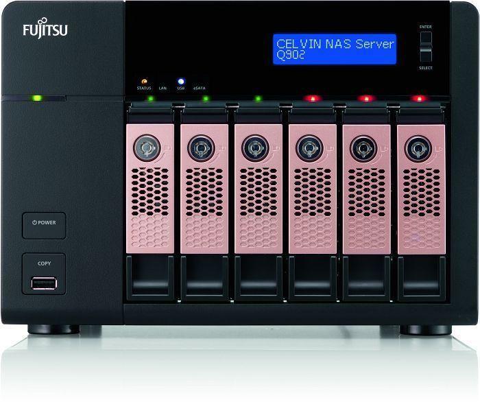 Fujitsu CELVIN Q902 12TB (6 x 2TB) 6-Bay NAS Server