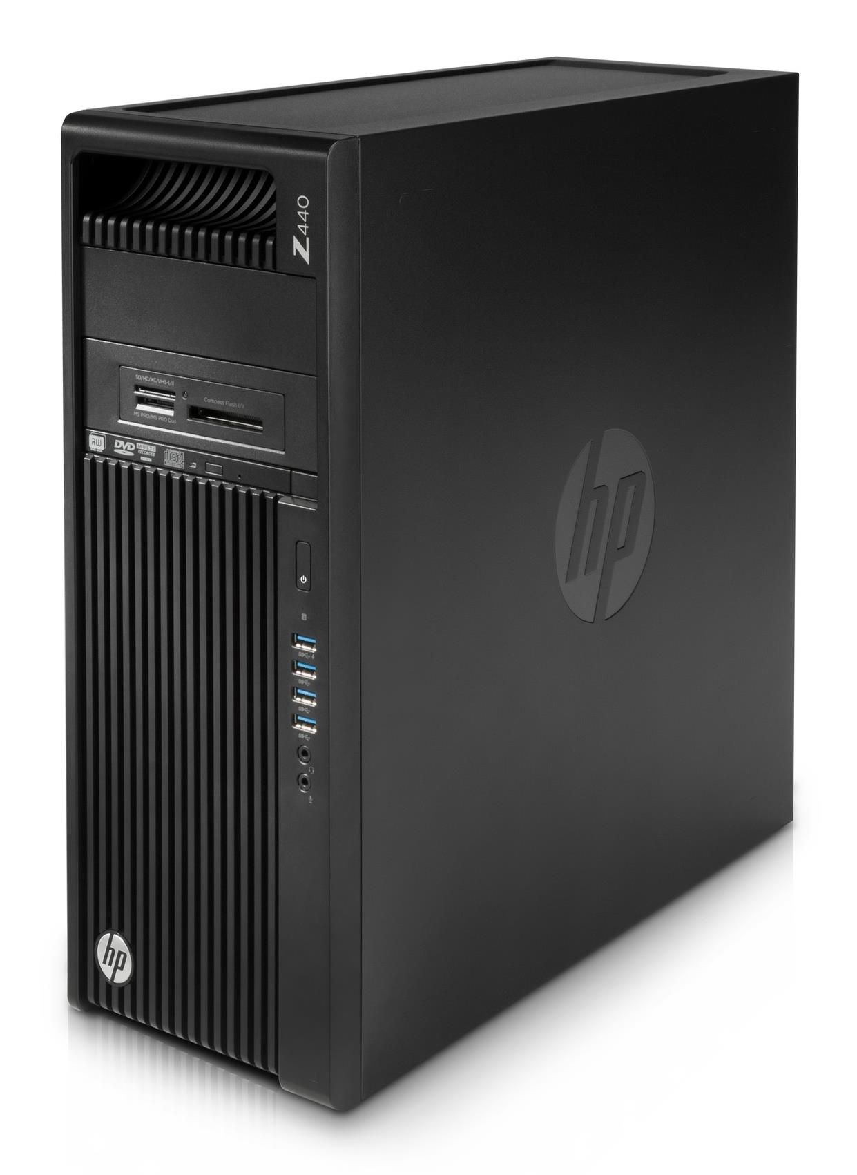 HP Z440 Workstation Xeon E5 (1620 v3) 3.5GHz 16GB 2 x 256GB SSD DVD±RW LAN Windows 7 Pro 64-bit+Media Upgrade to Windows 10 Pro 64-bit