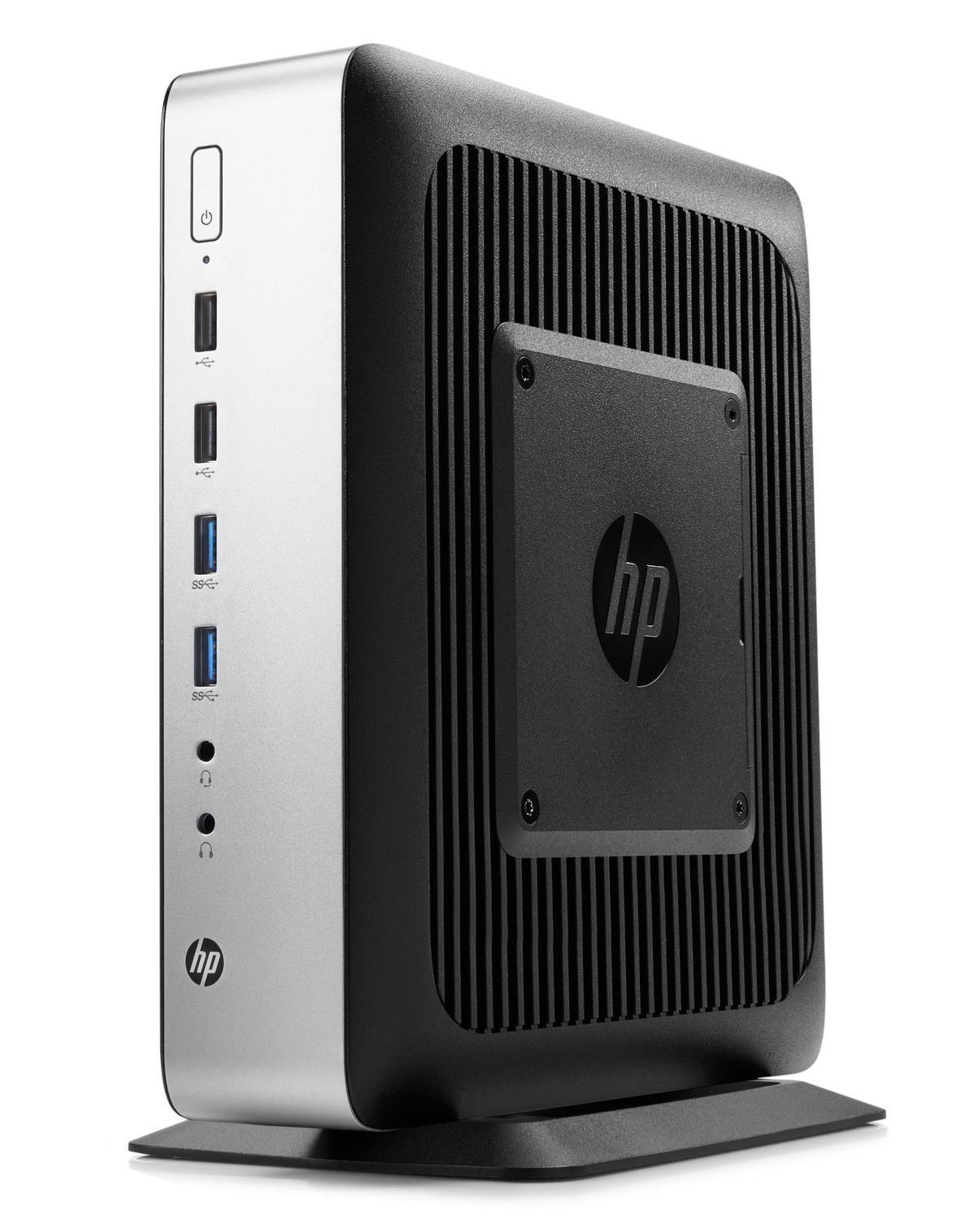 HP t730 Thin Client Quad Core (RX-427BB) 2.7GHz 8GB 32GB Flash LAN Windows 10 IoT Enterprise (Radeon HD 9000)