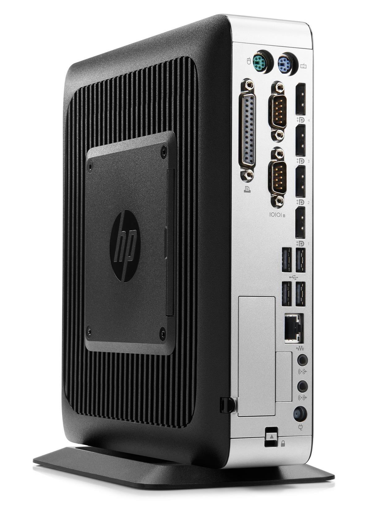 HP t730 Thin Client Quad Core (RX-427BB) 2.7GHz 4GB 16GB Flash LAN HP ThinPro (Radeon HD 9000)