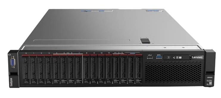 Lenovo ThinkSystem SR850 2U Rack Server 4 x Xeon Gold (5118) 2.3GHz 128GB (4x32GB) no HDD/OD LAN 1x930-8i 2GB Flash (Black/Silver)