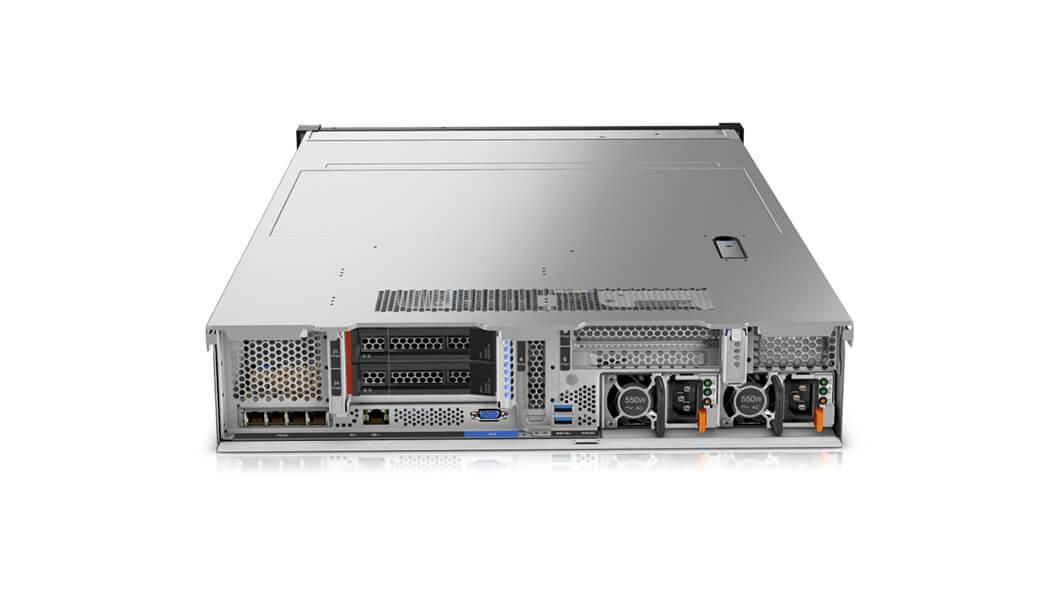 Lenovo ThinkSystem SR650 2U Rack Server Xeon Silver (4114) 2.2GHz 16GB (1x16GB) no HDD/OD LAN 1x930-16i 4GB Flash (Matrox G200 Graphics)