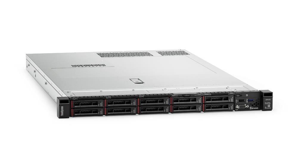 Lenovo ThinkSystem SR630 1U Rack Server Xeon Gold (5118) 2.3GHz 16GB (1x16GB) no HDD/OD LAN 1x930-16i 4GB Flash (Matrox G200 Graphics)
