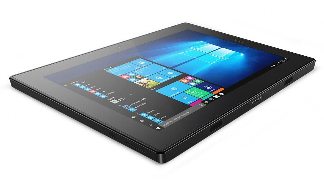 Lenovo Tablet 10 (10.1 inch Multi-Touch) Tablet PC Celeron (N4100) 1.1GHz 4GB 64GB eMMC WLAN BT Webcam Windows 10 Pro 64-bit (Integrated Intel UHD Graphics 600) Black