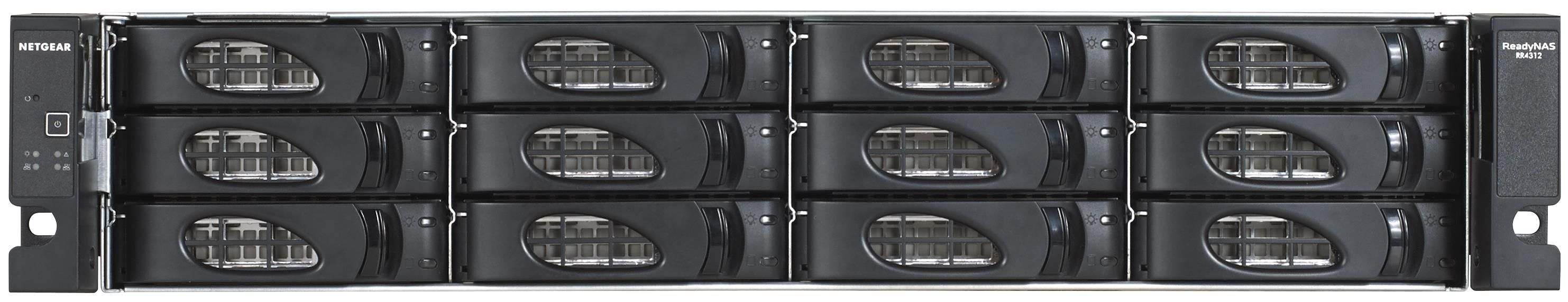 Netgear ReadyNAS 3312 (12 Bay) Rackmount Network Attached Storage with 12 x (4TB) Enterprise Drives