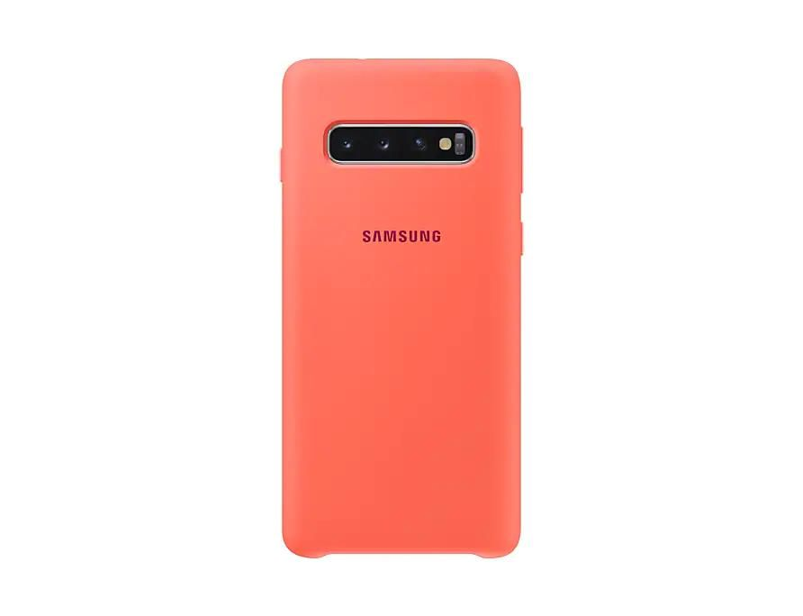Samsung EF-PG973 Silicone Cover (Pink) for Galaxy S10