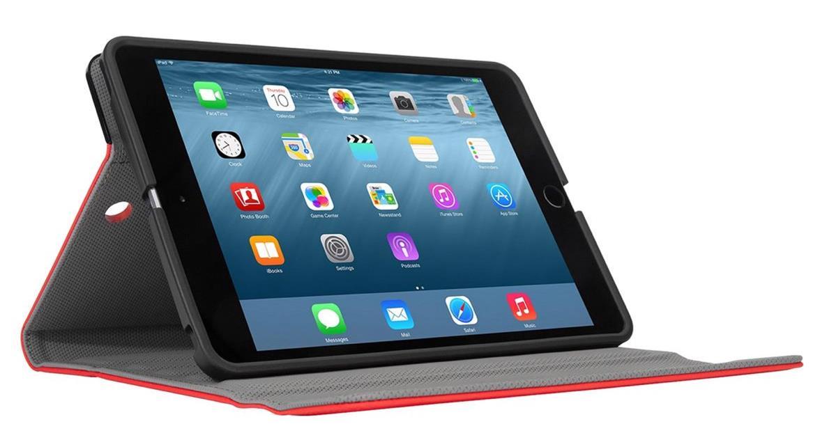 Targus Versavu Slim Rotating Stand Case (Red) for iPad mini 4,3,2,1