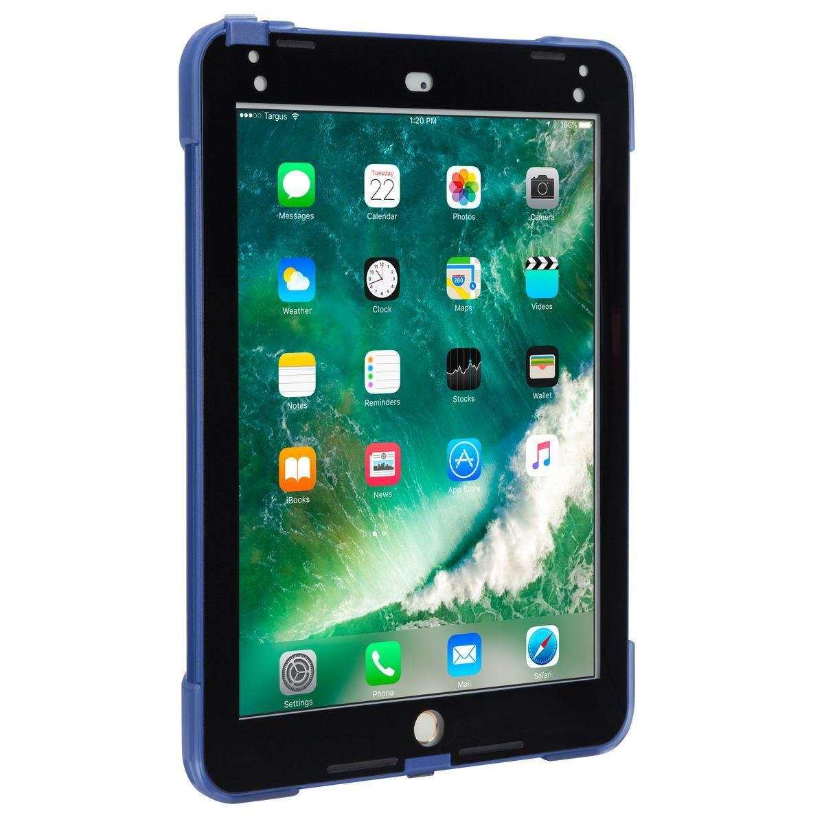 Targus SafePort Rugged Tablet Case (Blue) for Apple iPad (2018/2017)/iPad Pro (9.7 inch)/iPad Air 2 (9.7 inch)