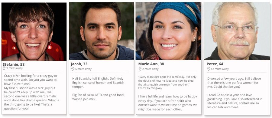 Using AI anyone can create very realistic fake dating profiles