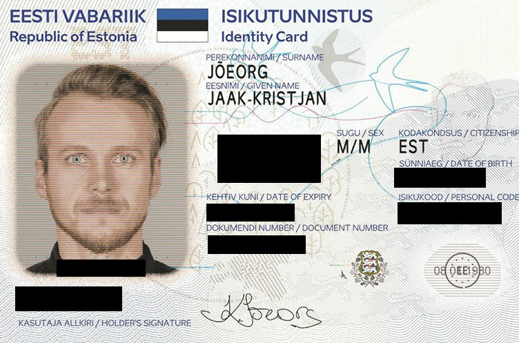 Example of an anonymized ID