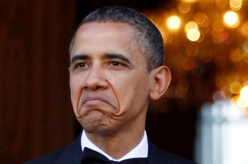 """President Barack Obama having been turned into the """"Not Bad"""" meme."""