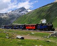 Dampfbahn Furka Bergstrecke
