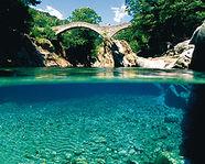 The Ponte dei Salti in Lavertezzo
