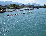 Flussbad Schwäbis Thun
