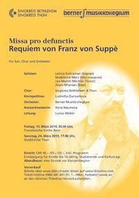 Missa pro defunctis - Requiem von Franz von Suppè (Thun)