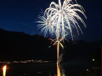 1. Augustfeier in Iseltwald