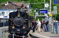 Ballenberg Dampfbahn - Wir dampfen dem Brienzersee entlang