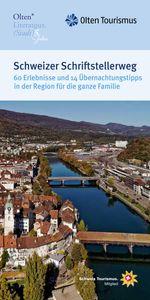 Titelbild Broschüre Schweizer Schriftstellerweg
