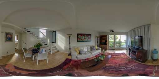 360 panorama home interior