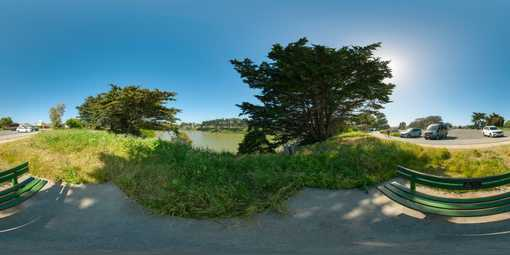 sf lake merced 360 panorama