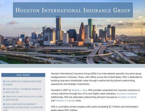 Houston International Insurance Group (HIIG)