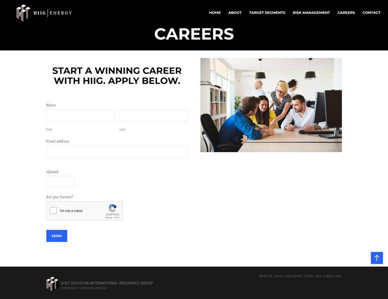 HIIG Energy - careers page