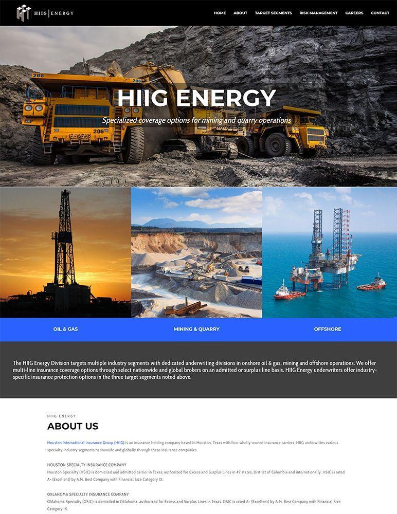 HIIG Energy - home page