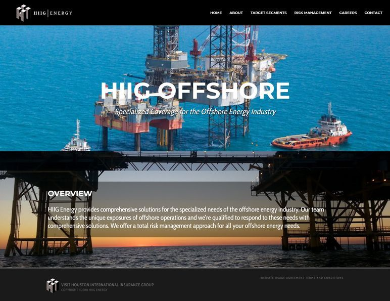 HIIG Energy - offshore page