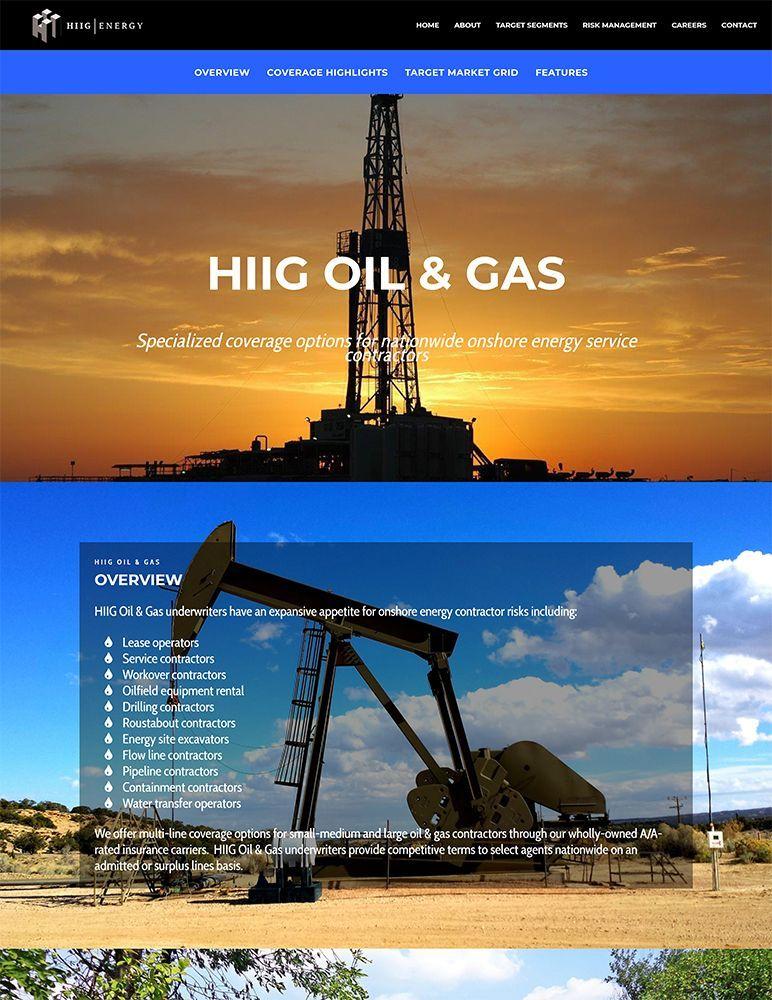 HIIG Energy - oil & gas page