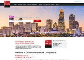 Real Living Carolinas Real Estate - home page