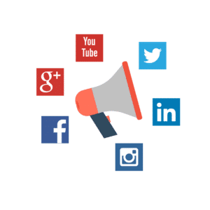 Social media helps your business stay top of mind with prospects.