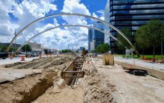 Construction Site Lynn Lane Houston, Texas