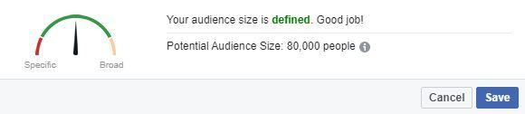 Facebook Audience Measuring