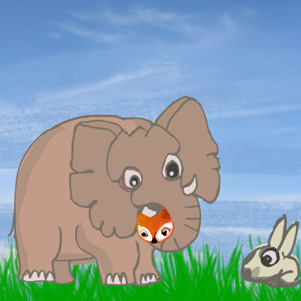 Elephant And The Rabbit Story
