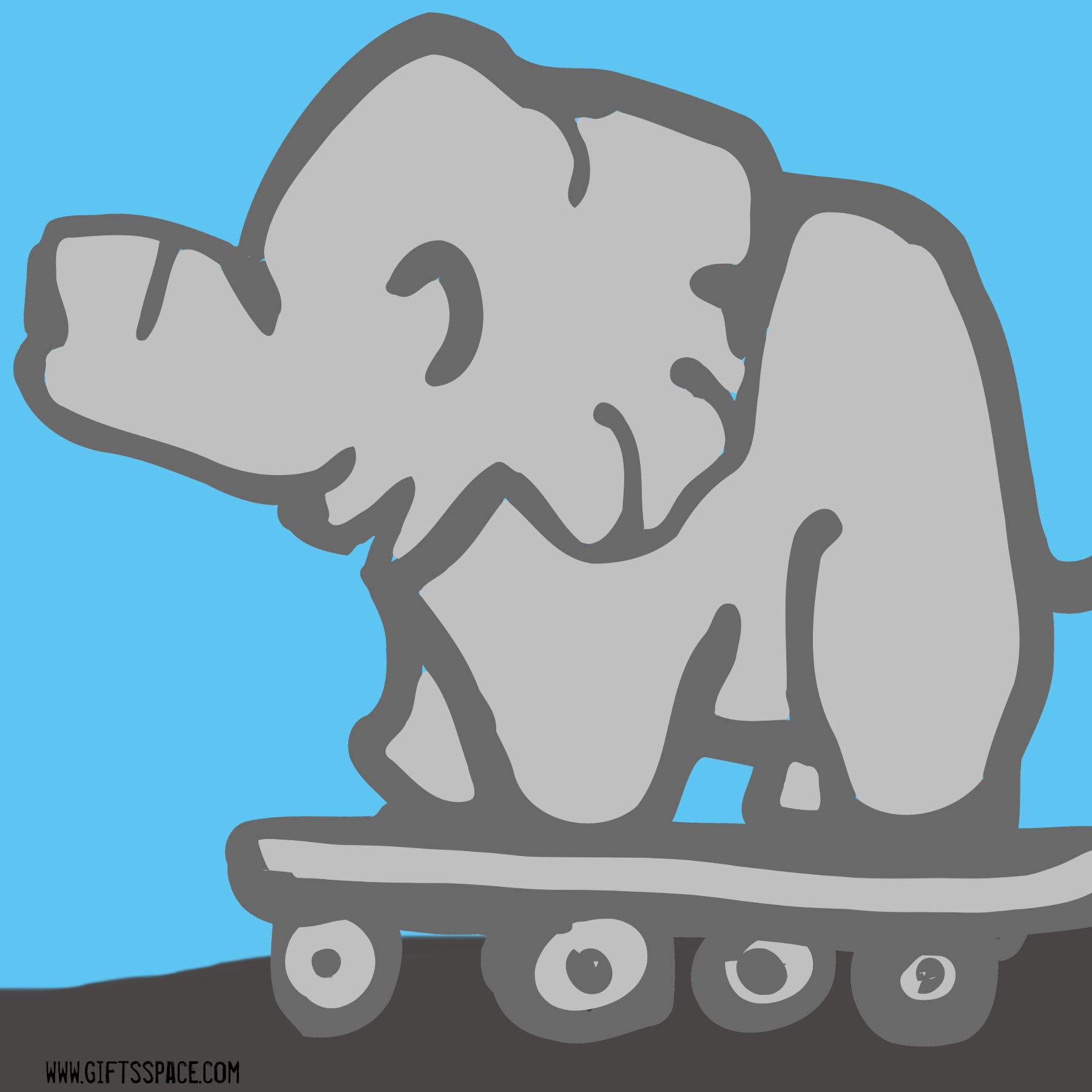 Skater Elephant