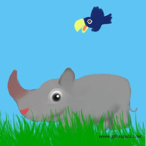 What Made This Rhino So Humble!