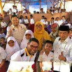 Kunjungan Fraksi PKS DPR RI ke Pengungsi Puncak Bumbun Neg.Liang, Maluku Tengah