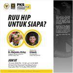 [PKS Legislative Corner] RUU HIP Untuk Siapa?