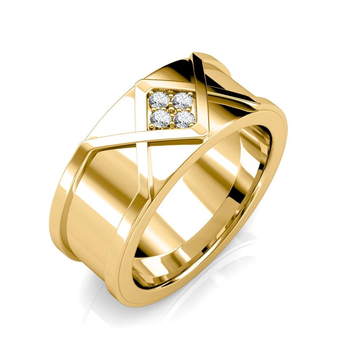 The Ross Diamond Ring For Him