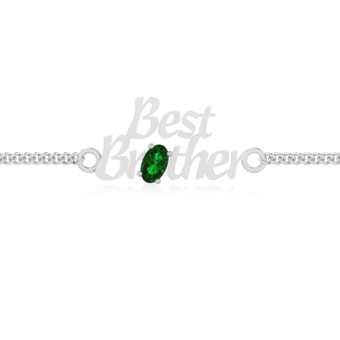 Sylth Brother Emerald Bracelet