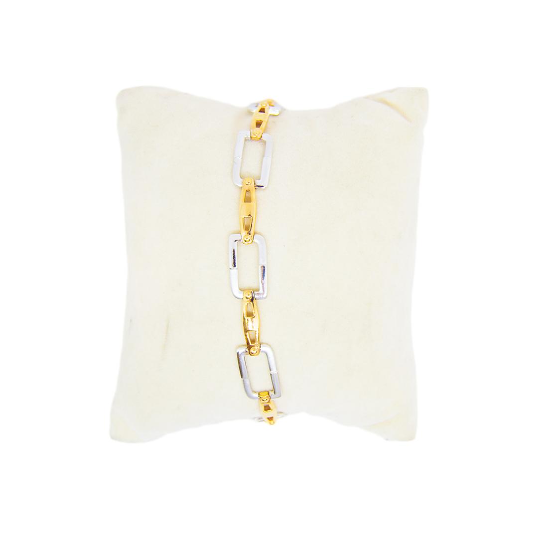 Anjalee Jewellers 18K Gold Bracelet studded with CZ Diamonds 18CLK/2