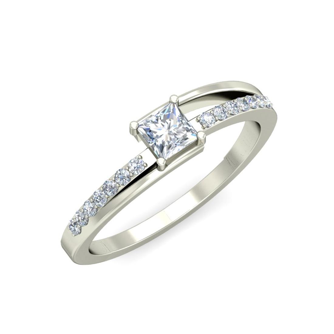 Arkina Diamond's half double rounded ring