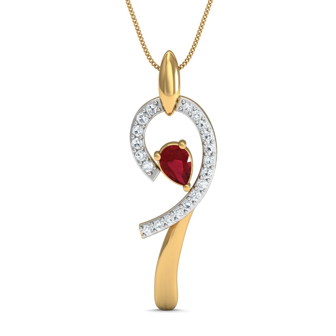 Arkina Diamond's Stylish Giah pendent