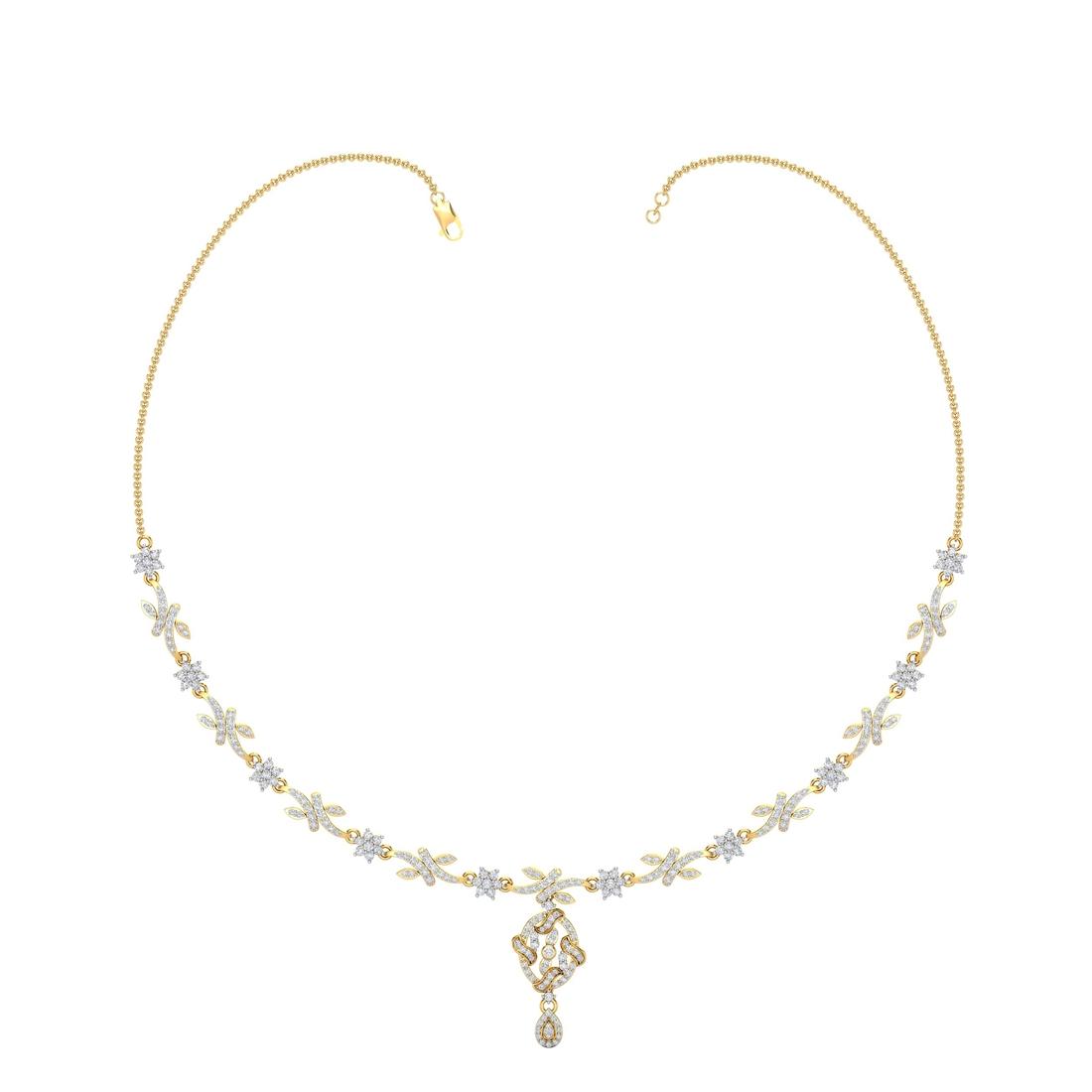 Arkina Diamond's fashion end necklace
