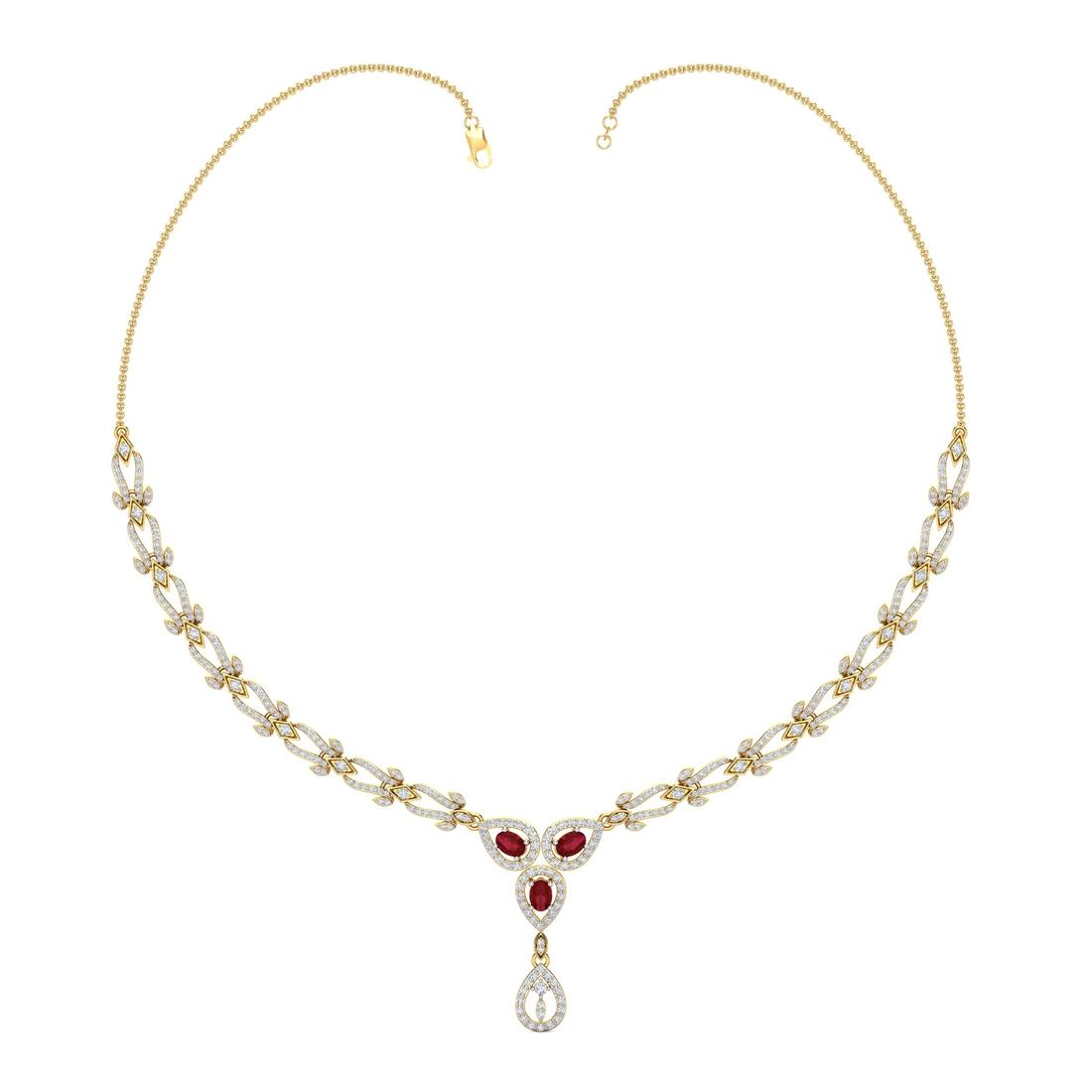 Arkina Diamond's Desert Rose Necklace