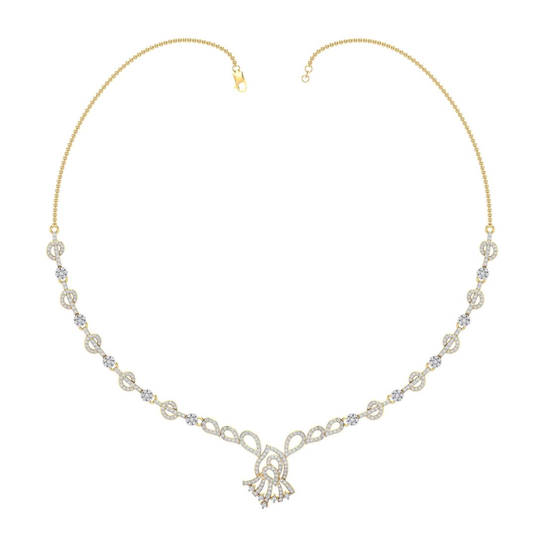 Arkina Diamond's Stylish glowly necklace