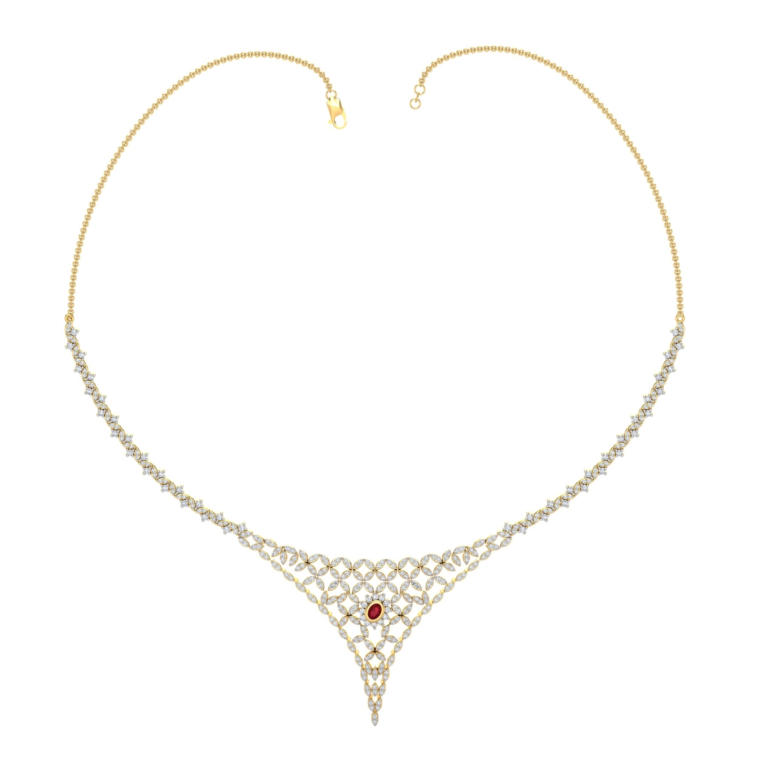 Arkina Diamond's Scarlett Necklace