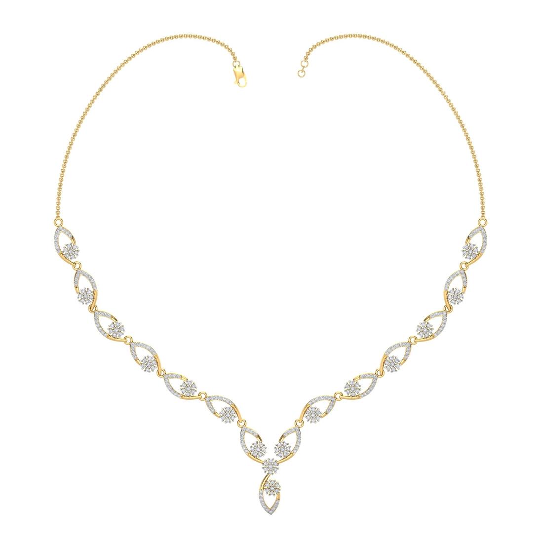 Arkina Diamond's Diamond Cascade Necklace