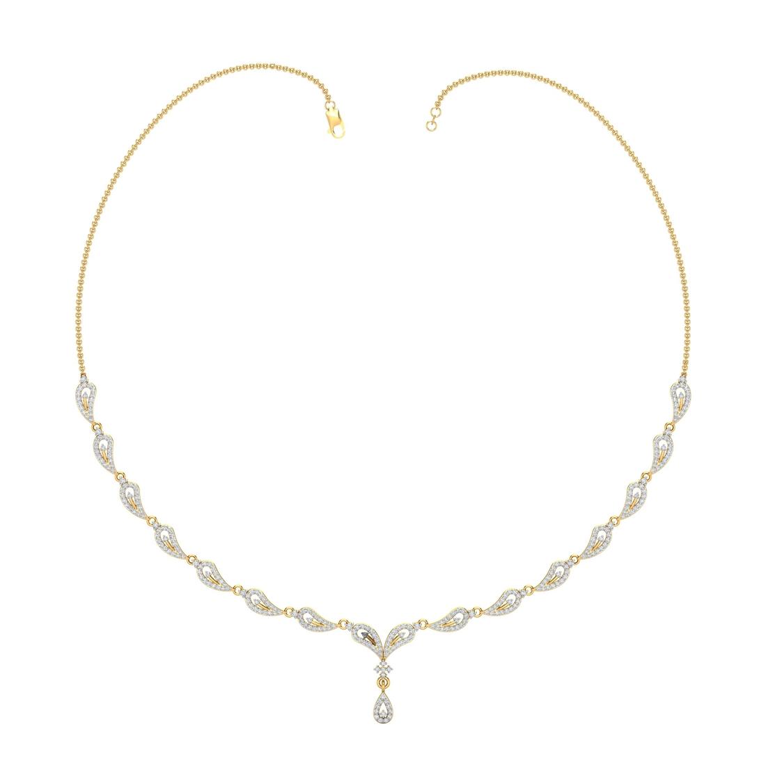 Arkina Diamond's Lovely droplet necklace